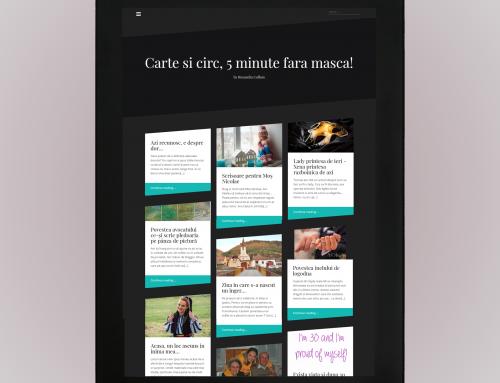 Ruxandra Colhon – design si dezvoltare website