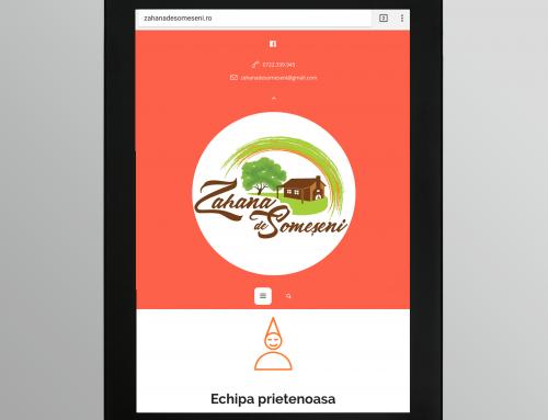 Zahana de Someseni – dezvoltare website