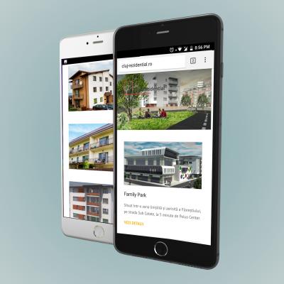 site web Cluj Rezidential dezvoltare website