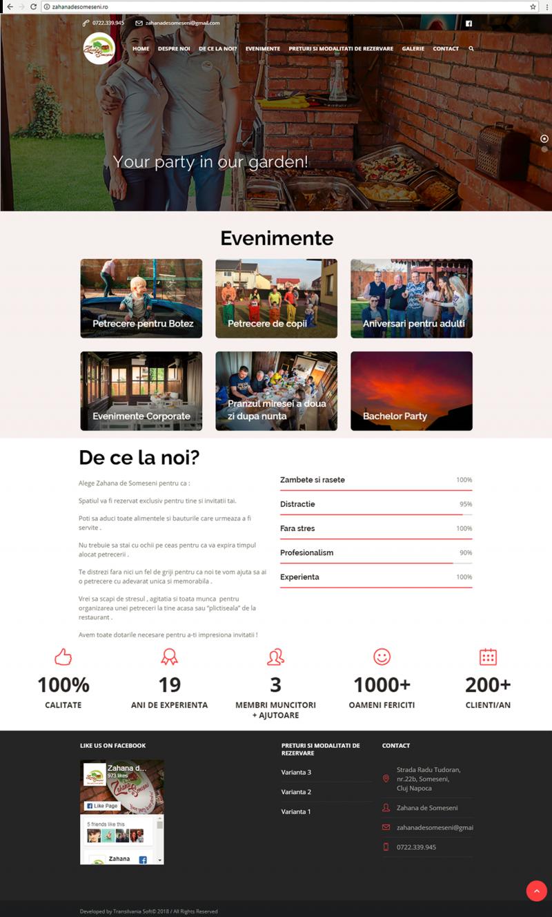 site prezentare Zahana de Someseni_tableta