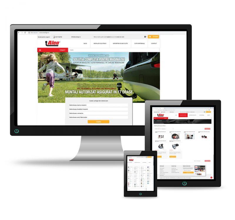 dezvoltare magazin online eCarlige