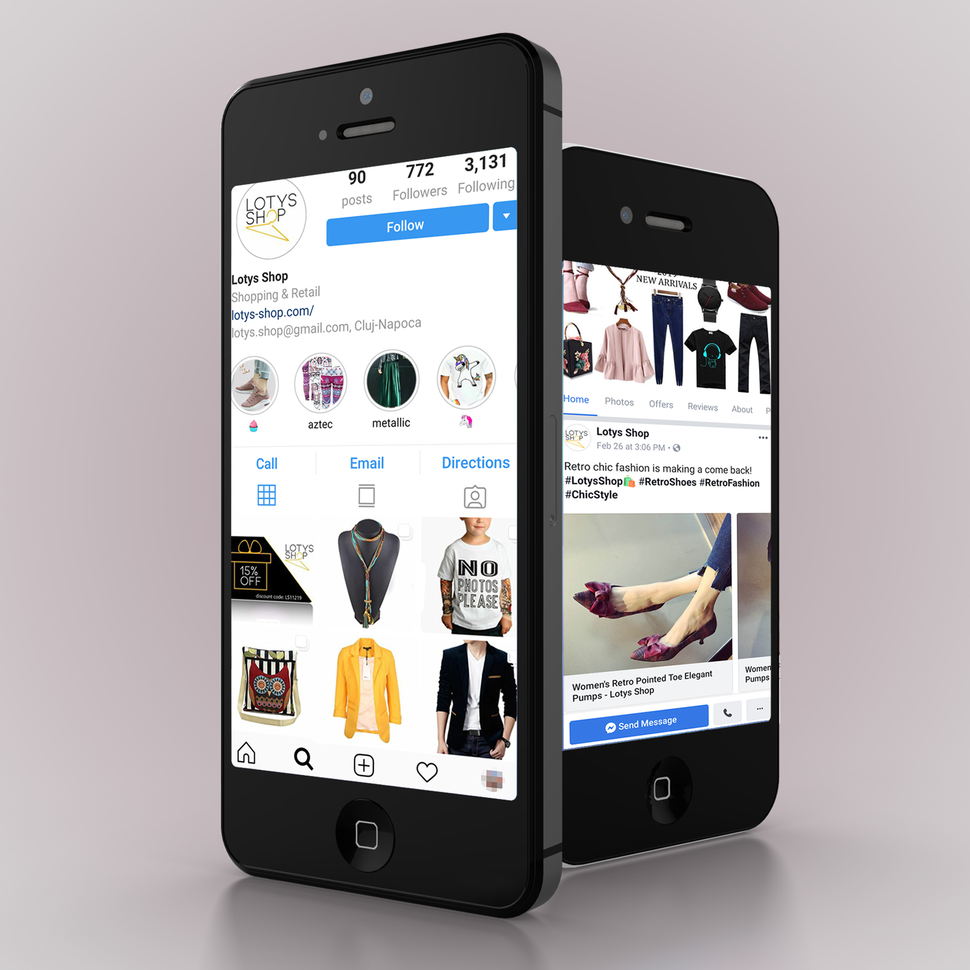 marketing digital Lotys Shop